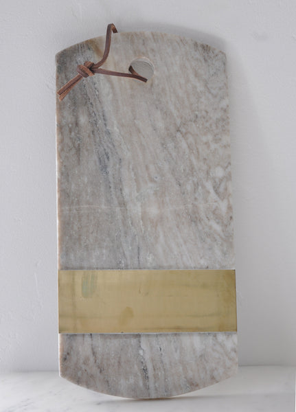 Grey Marble Cutting Board