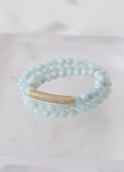 Triple Wrap Bar Bracelet
