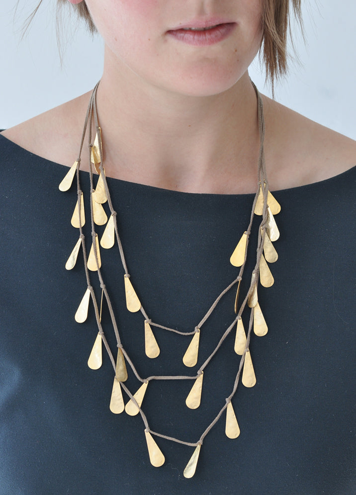 Three Layer Statement Necklace