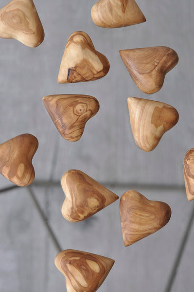 Give an Olive Wood Heart
