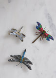 Beaded Dragonfly Brooch