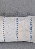 Stitched Giselle Cowhide Cushion