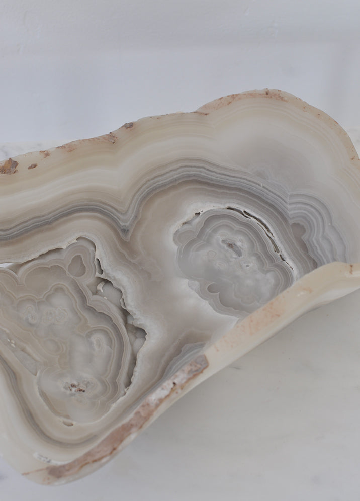 Grey Banded Onyx Bowl