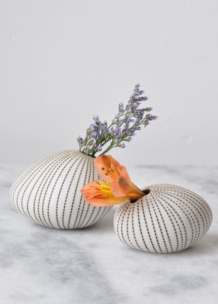 Dotted Pebble Vase