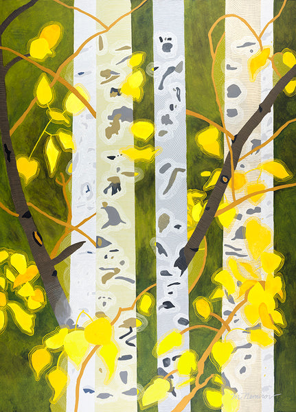 "Meredith Nemirov, ""Four Seasons Autumn,"" Limited Edition Giclee Print"