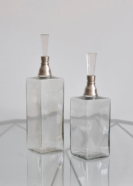 Deco Square Decanters