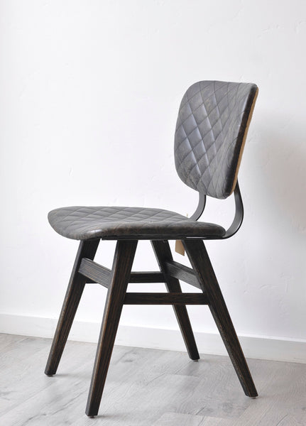 Quilted Ebony Chair