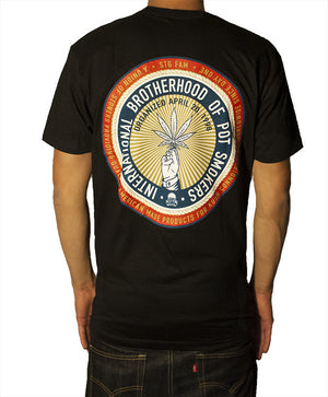 Pot Smokers Union - Black Men's Tee