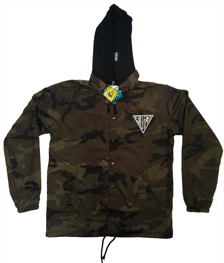 Triangle Camo Coach Jacket SEASON 3