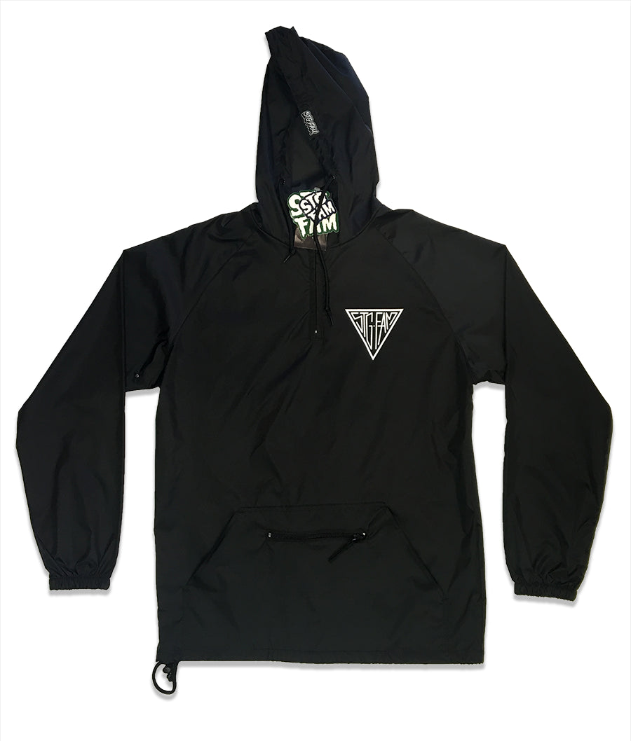 "(Limited Edition) Triangle ""Packable"" Anorak Pullover Jacket"