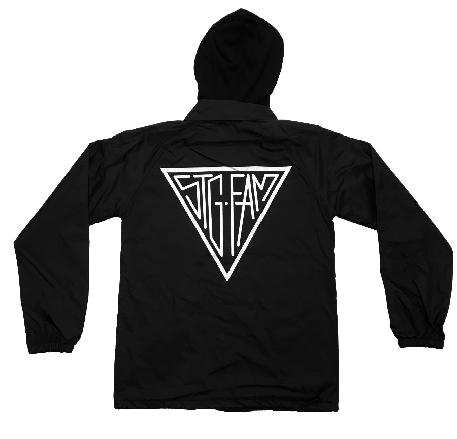 Triangle CHARCOAL Coach Jacket SEASON 3