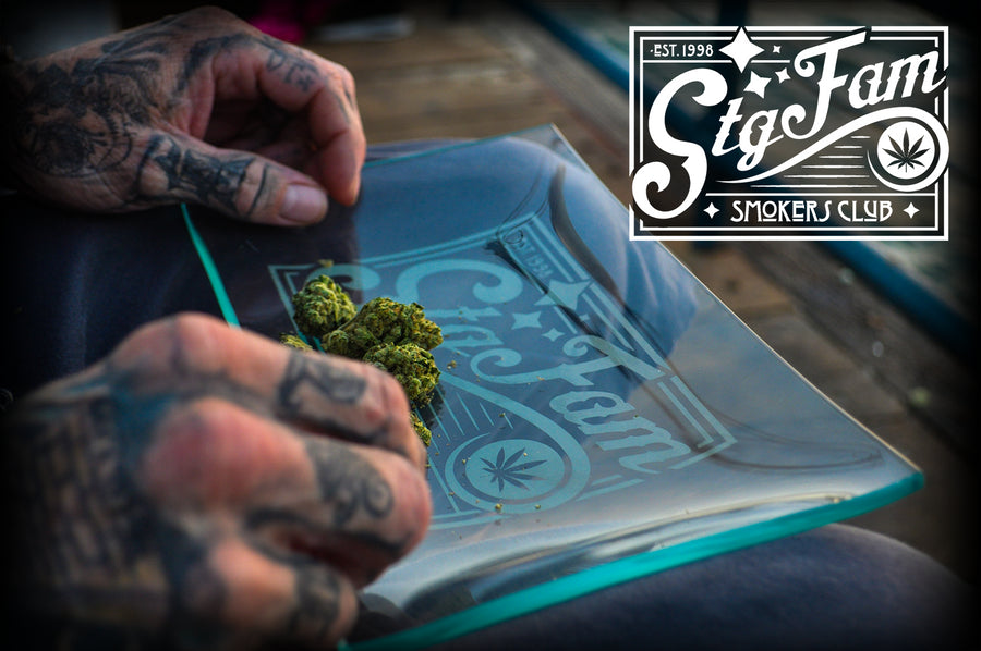 Smokers Club Rolling Tray