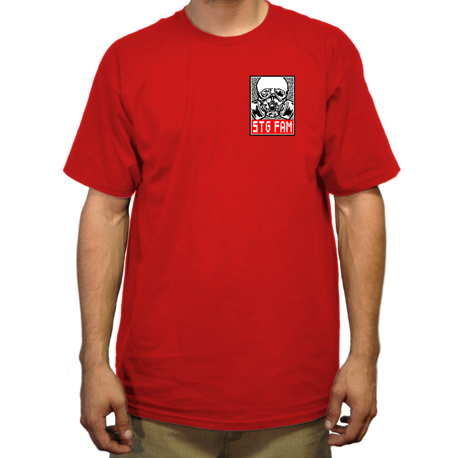 Pixel- Red Men's Tee