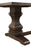 Parkins Double Pedestals Dining Table Rustic Espresso