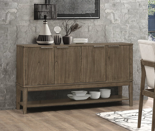 Torrington 4-Door Server Wheat Brown