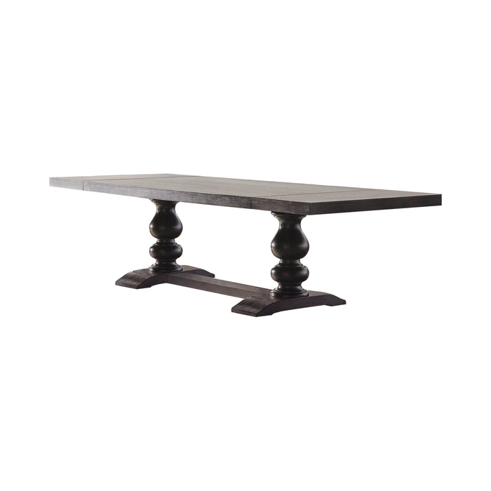Phelps Rectangular Dining Table Antique Noir