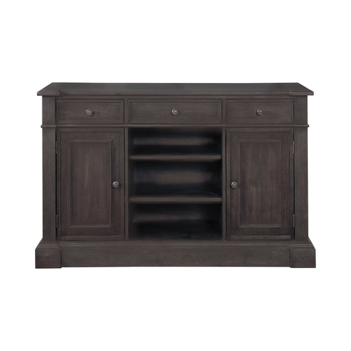 Phelps 2-Door Rectangular Server Antique Noir
