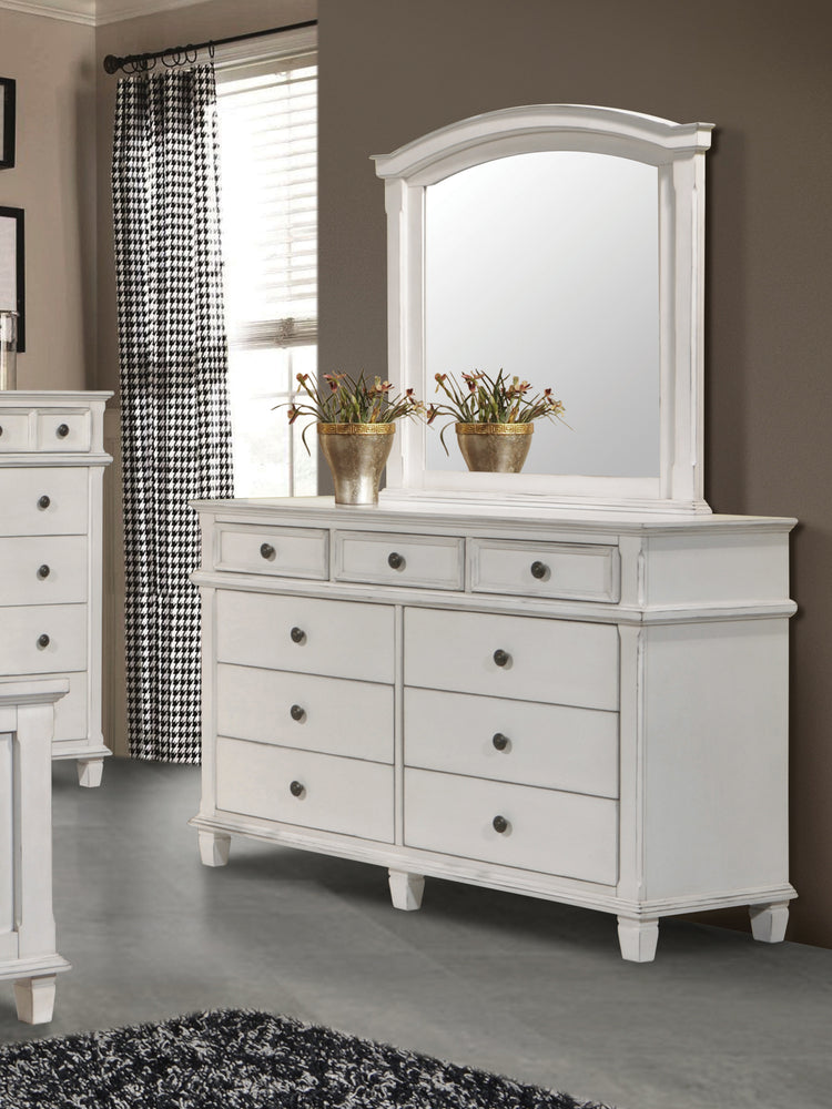 Carolina 9-Drawer Dresser Antique White