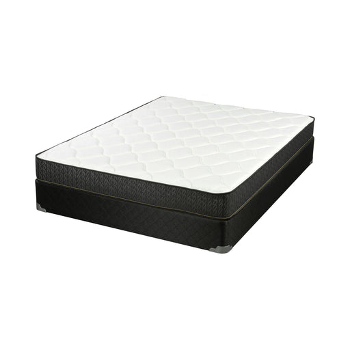 Santa Barbara III Twin Mattress White And Charcoal