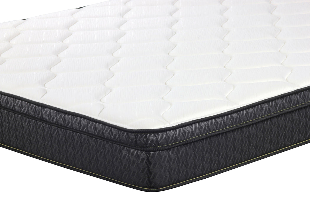Evie 9.25″ Full Mattress White And Black