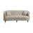 Avonlea Sloped Arm Upholstered Sofa Trim Grey