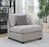 Cambria Upholstered Sectional Gray