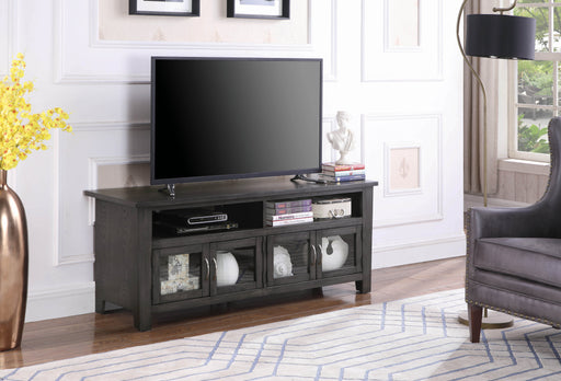 Transitional Dark Grey 60″ TV Console