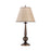Cone Shade Table Lamps Bronze And Beige