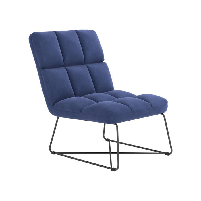 MIDNIGHT BLUE ACCENT CHAIR