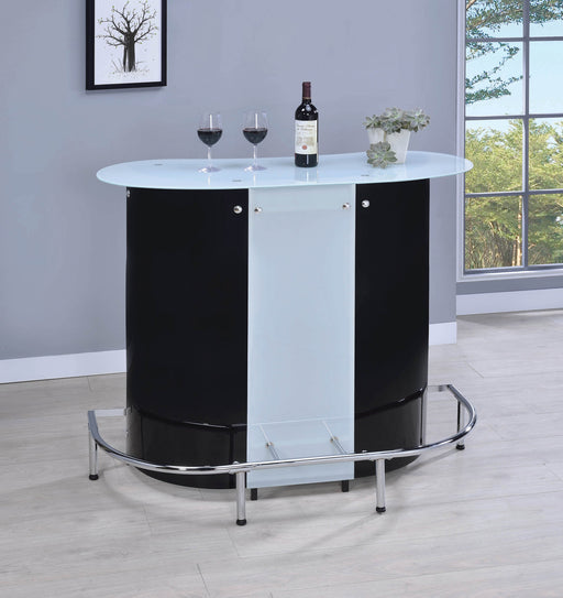 Contemporary_Black_And_Chrome_Bar_Unit_With_Frosted_Glass_Top_1