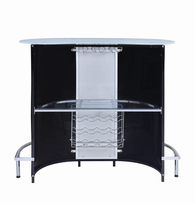 Contemporary_Black_And_Chrome_Bar_Unit_With_Frosted_Glass_Top_2