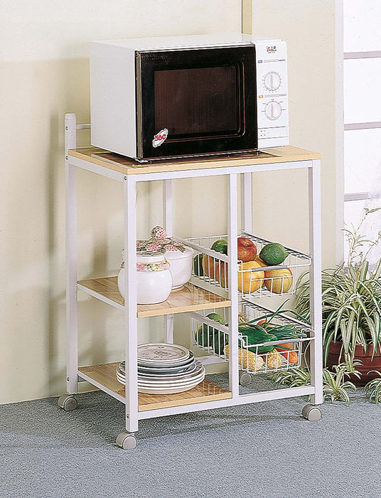 Natural_Brown_And_White_Casual_Kitchen_Cart_1