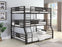 Rogen_Full/Twin XL/Queen_Triple_Bunk_Bed_Dark_Bronze_1