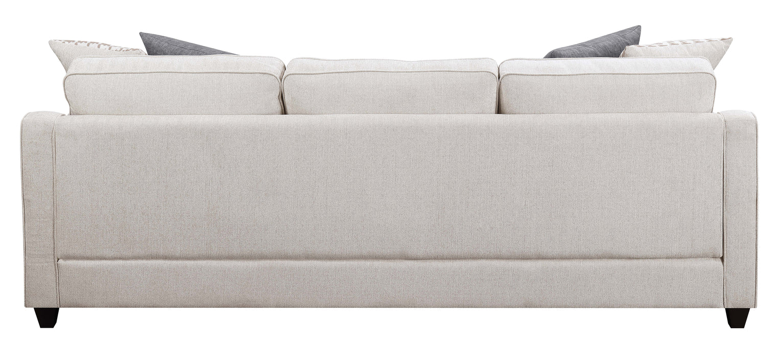 Scott Living Montgomery Transitional Cream Sectional Reversible Chaise_6
