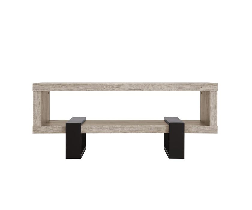 Industrial Grey Driftwood Open Coffee Table_720878_3