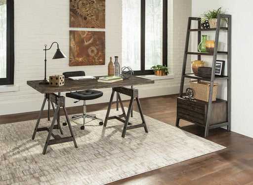 Scott_Living_Deponte_Weathered_Gunmetal_Adjustable_Writing_Desk_w/_Bookcase_Home_Office_Set_2