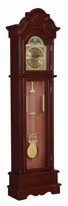 Traditional_Brown_Red_Grandfather_Clock_2