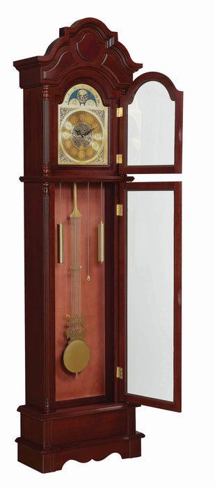 Traditional_Brown_Red_Grandfather_Clock_4