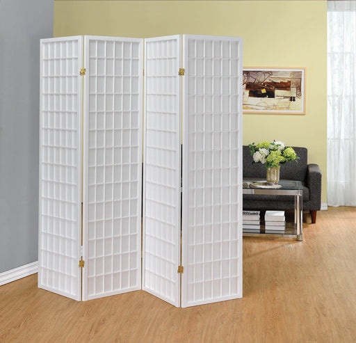 White_Four_Panel_Folding_Screen_Room_Divider_1