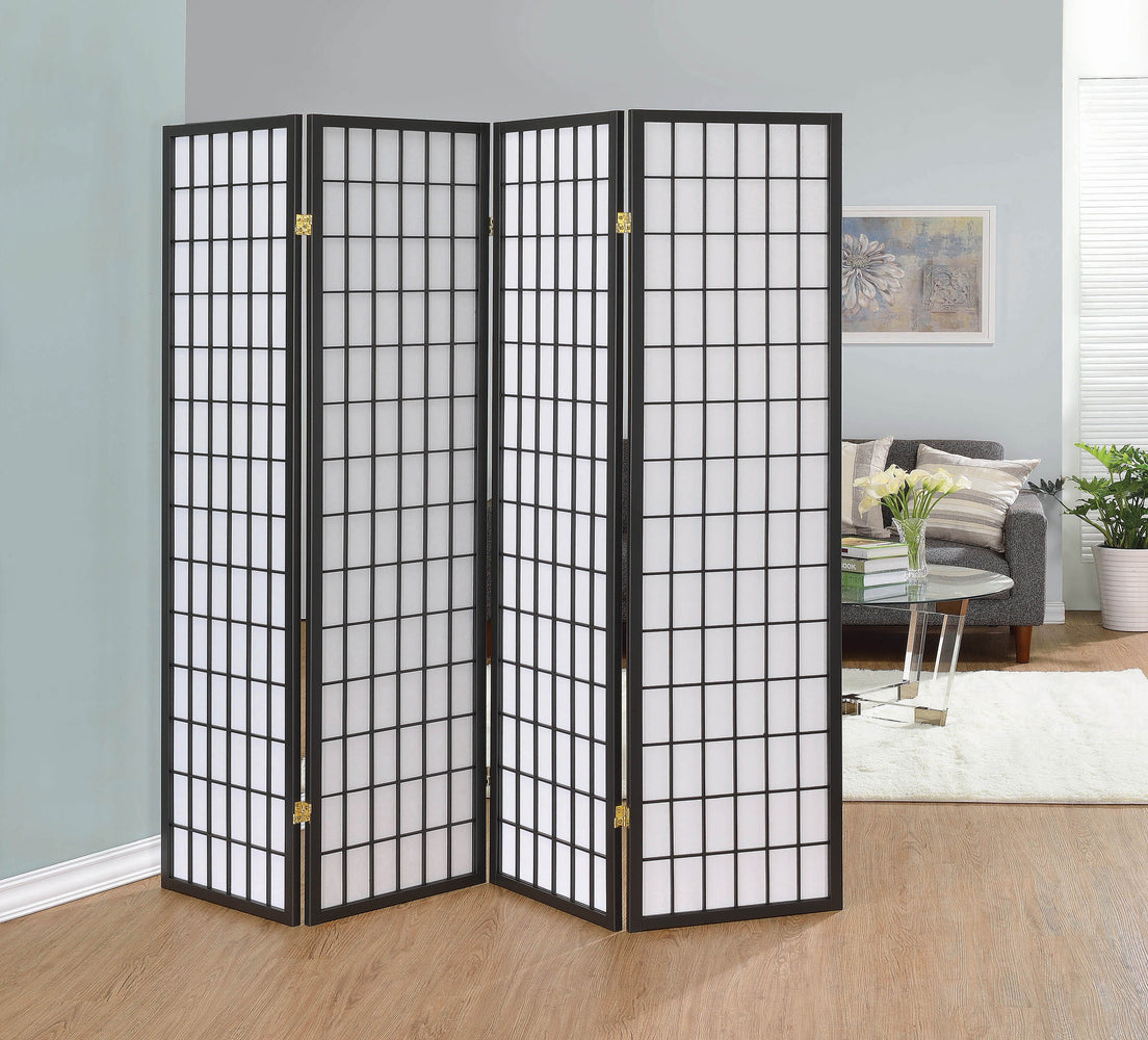 Dark_Grey_Four_Panel_Folding_Screen_Room_Divider_1