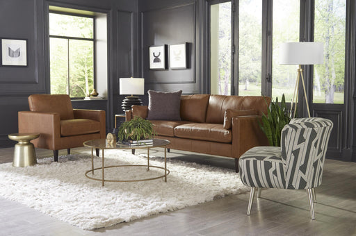TRAFTON COLL LEATHER SOFA