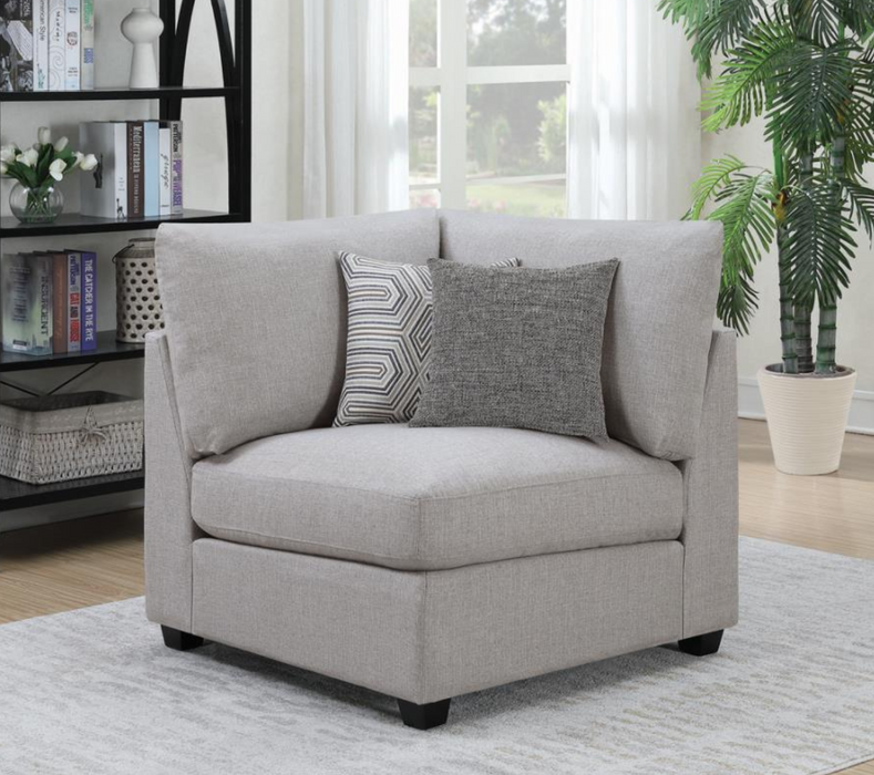 Cambria Upholstered Corner Grey