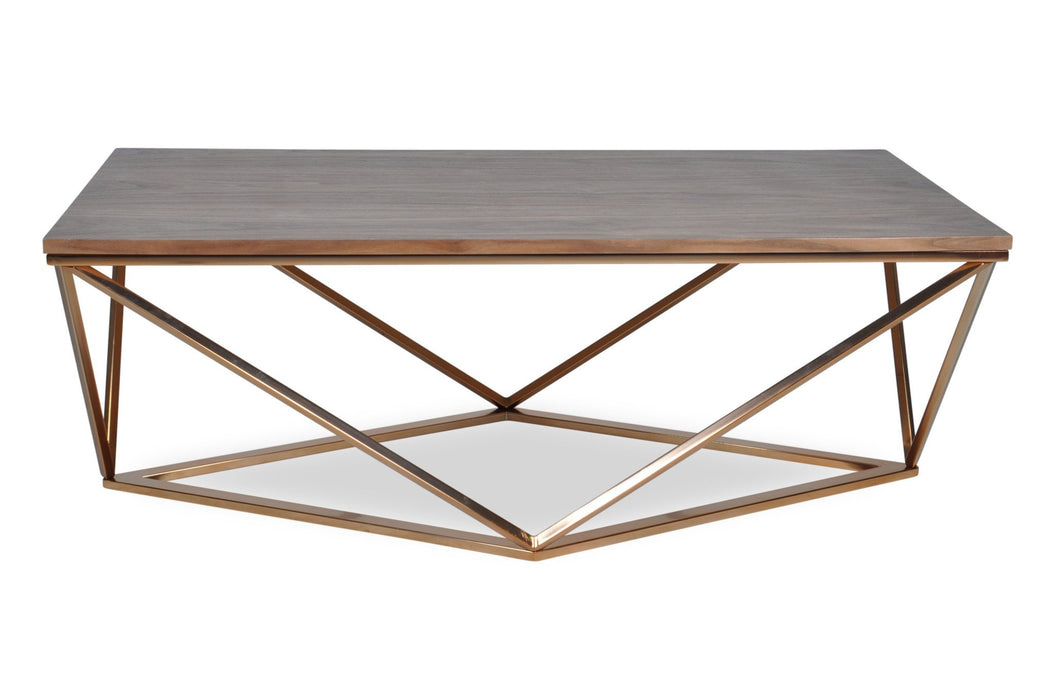 Barclay Gold Coffee Table
