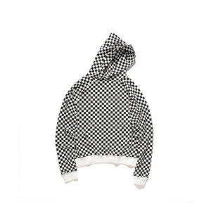 HEYGUYS  high street wear white and black pullover Men sweatshirts zipper Hip Hop Street wear Sweatshirts wear fleece clothes