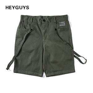 HEYGUYS 2018 Mens Military Cargo Shorts Brand New Army HIP HOP Shorts Men Cotton Loose Work Casual Short Pants Plus Size