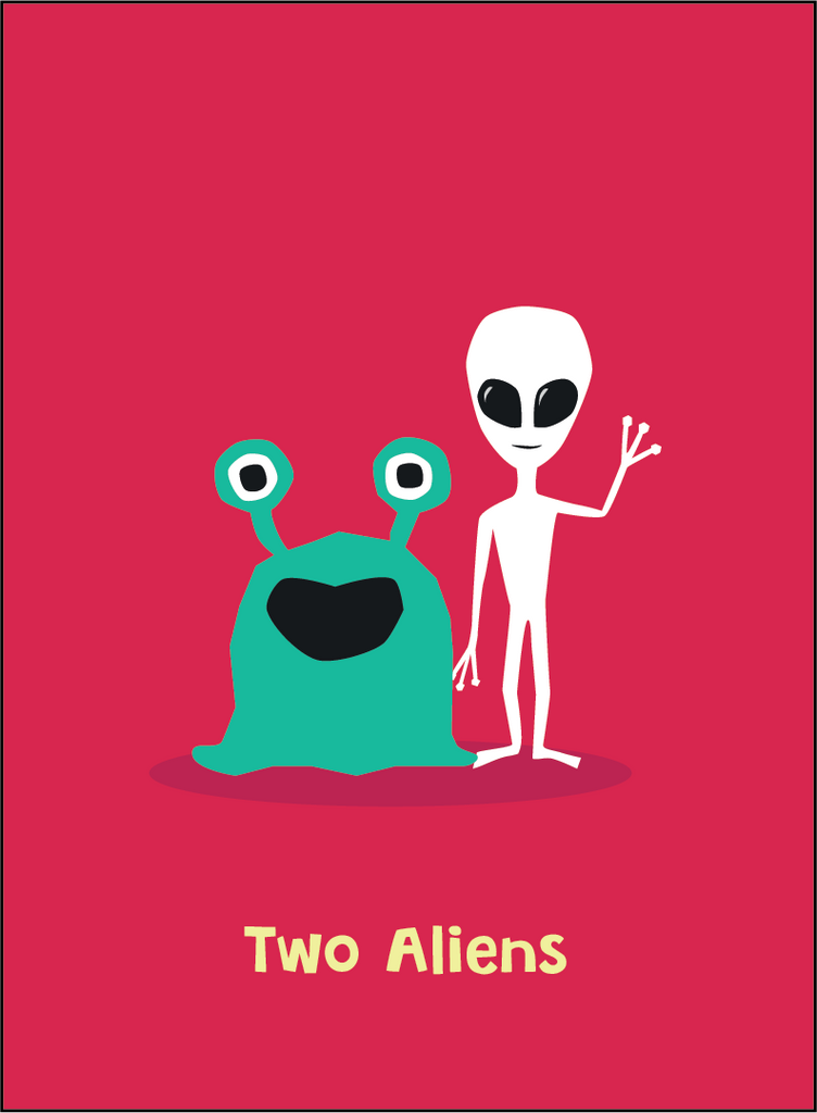 Retrospective Scenario: 2 Aliens from another dimension