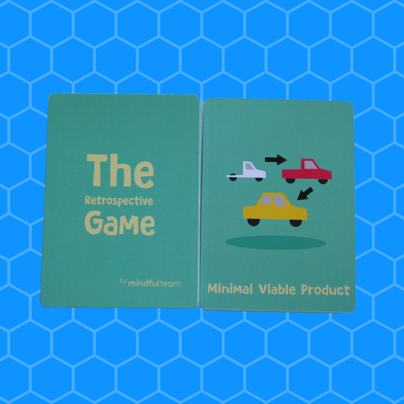 Startup Edition | The Retrospective Game with free worldwide P&P - theretrospectivegame