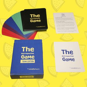 The Retrospective Game (Team Edition) with free worldwide P&P