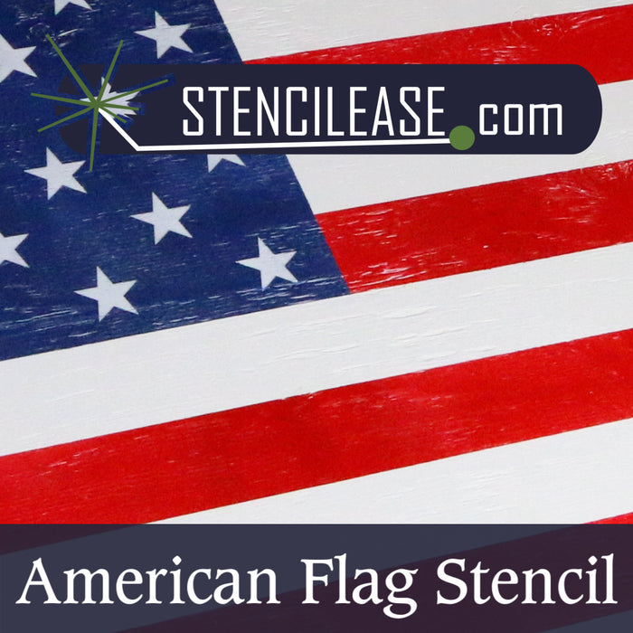 Create Your Own Flag with Stencil Ease's American Flag Stencil
