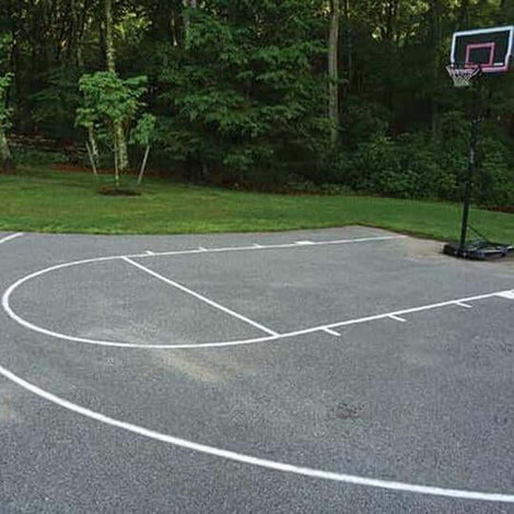 Basketball Court Stencils